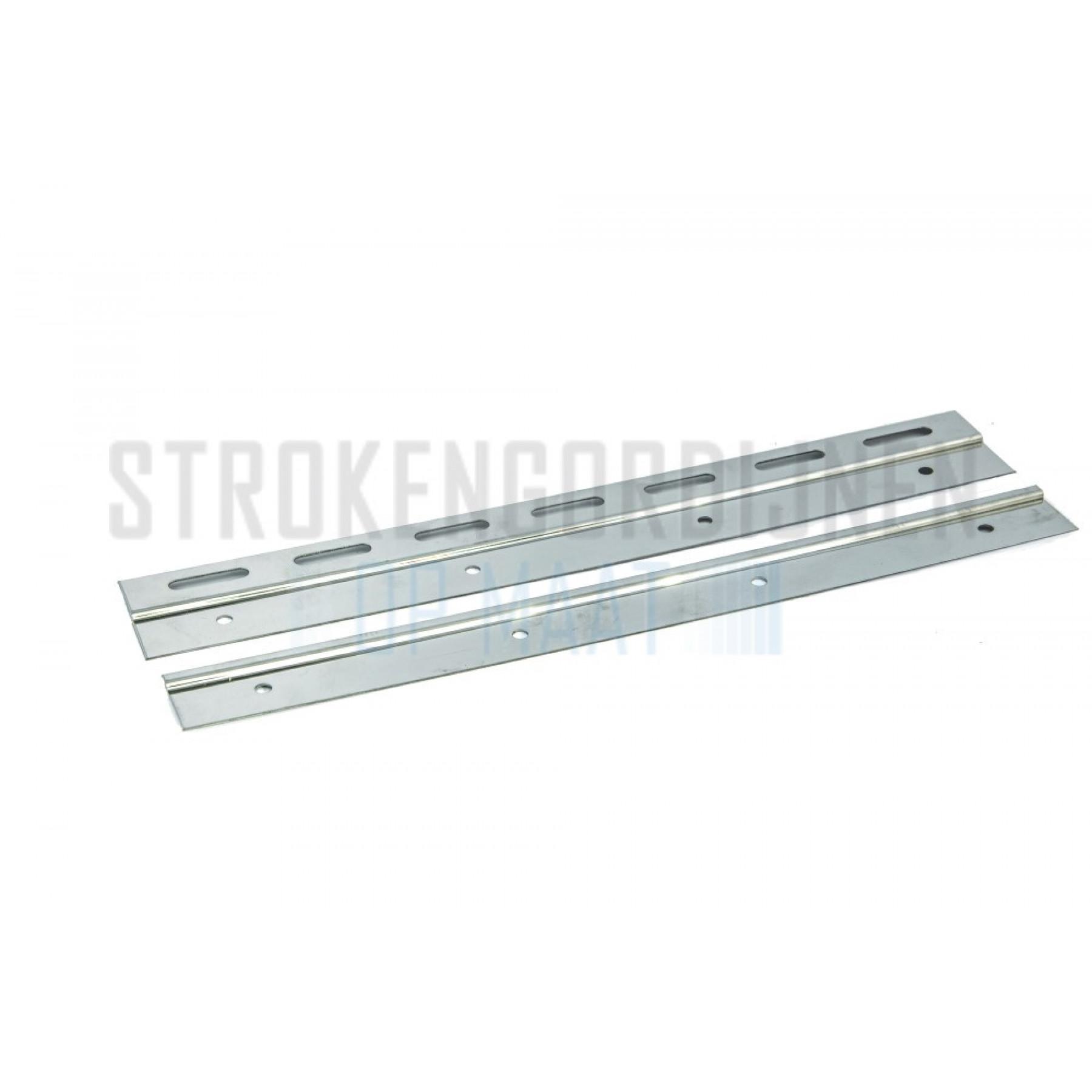 Klemmleiste für Streifen, 300mm breit, Rostfrei-Stahl