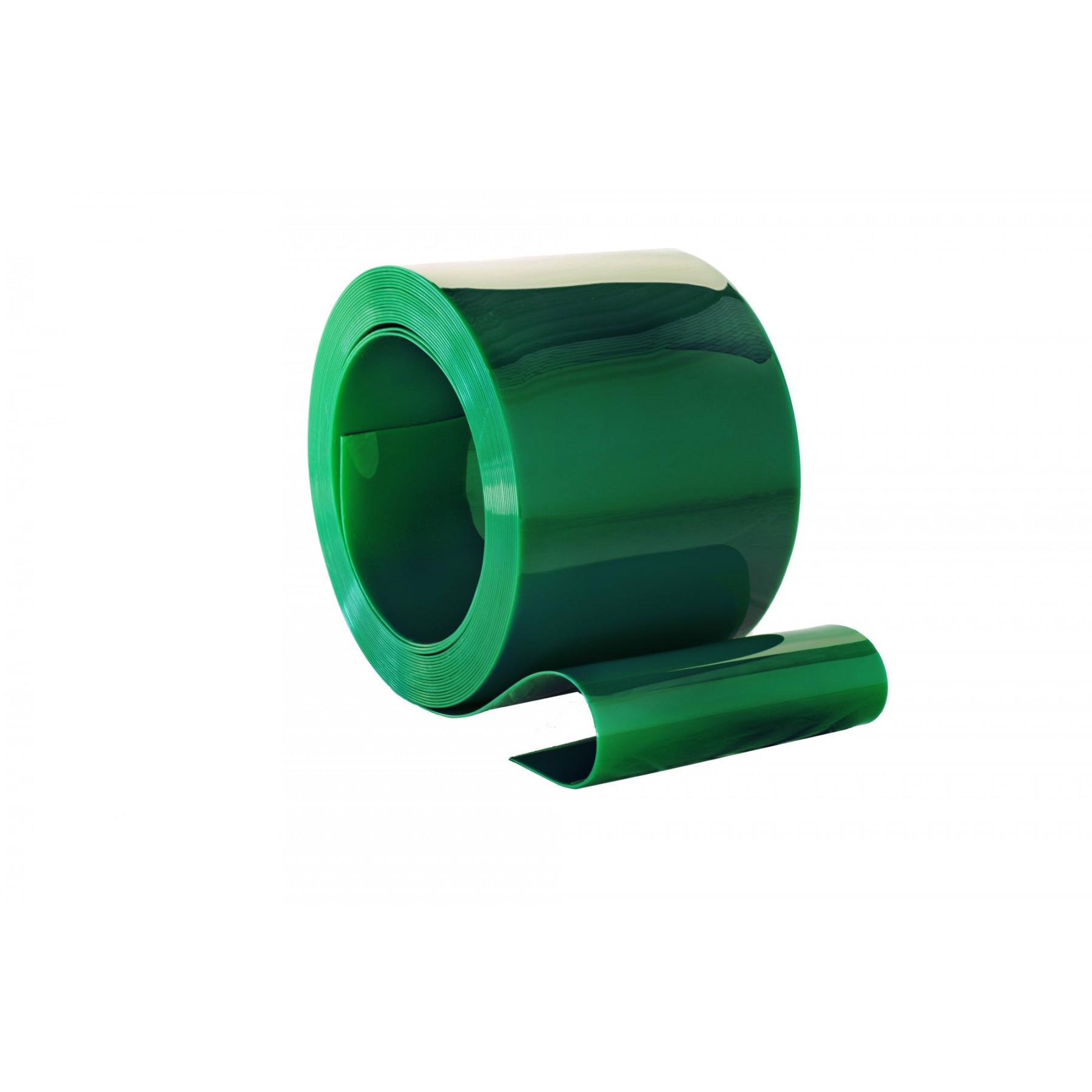 PVC Rolle, 300mm breit, 2mm dick, 50 Meter lang, Schweißqualtität, Farbe Grün, transparent