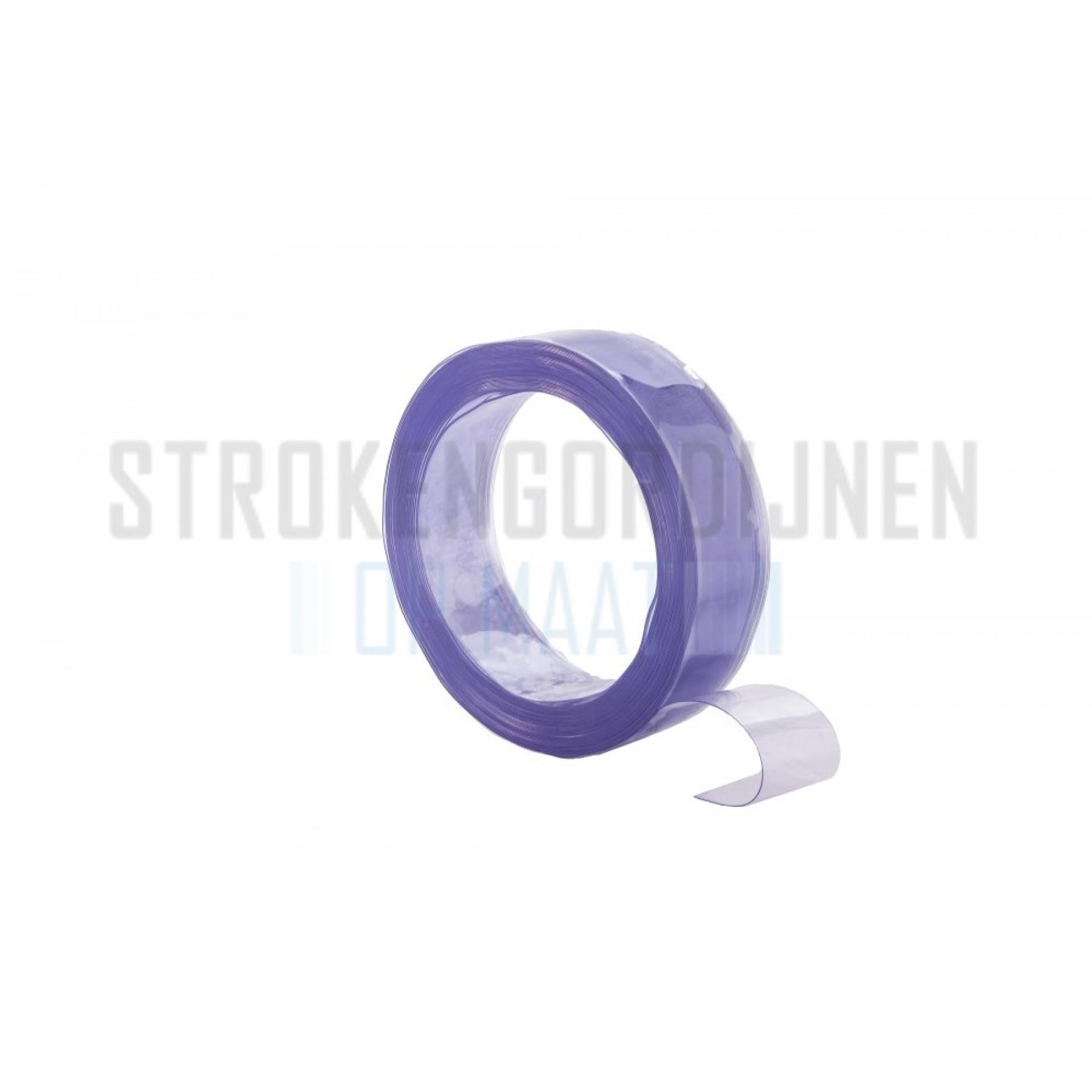 PVC Rolle, 100mm breit, 1.2mm dick, 50 Meter lang, transparent