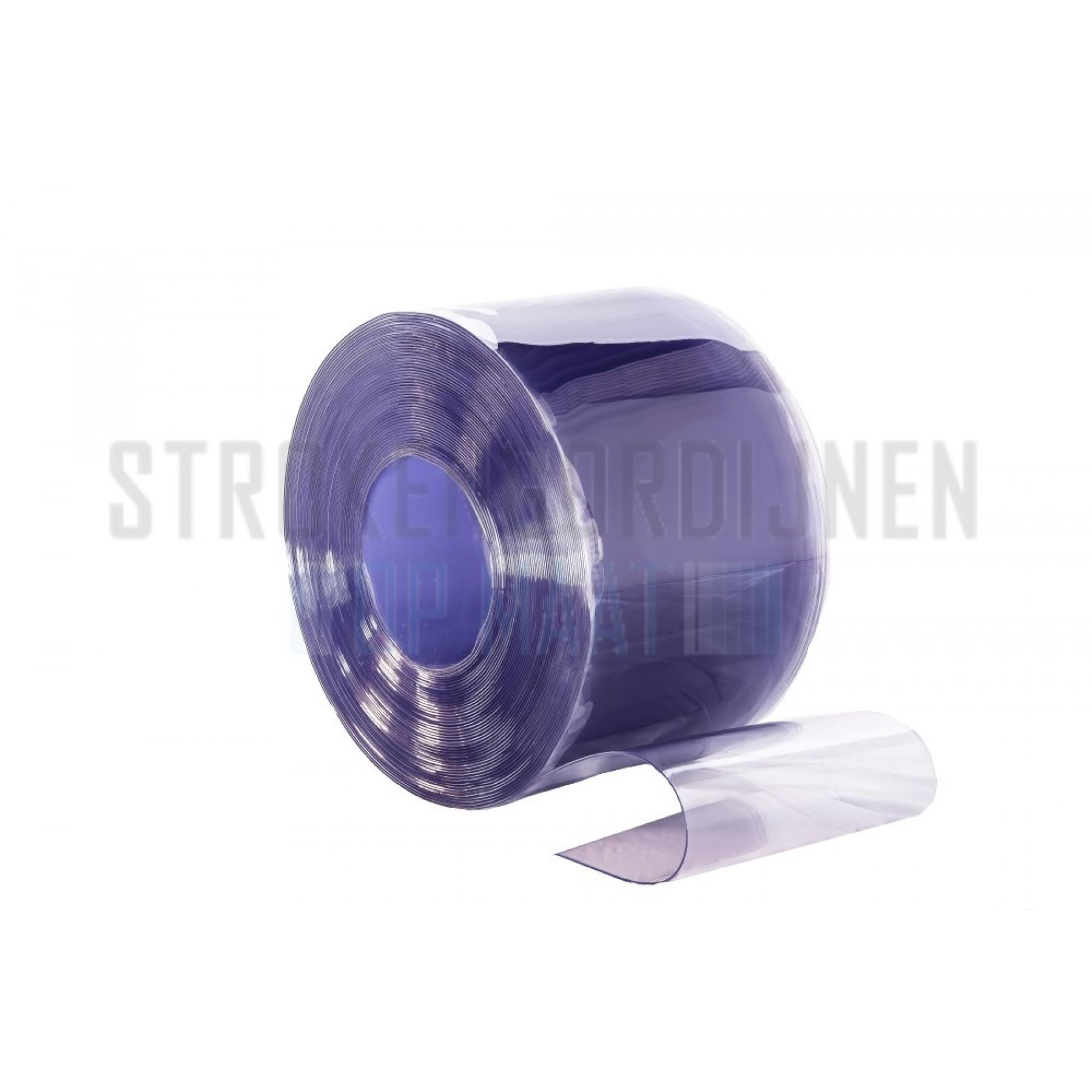 PVC Streifen zur Renovierung, 300mm breit, 3mm dick, Tiefkühlraum Qualität, transparent