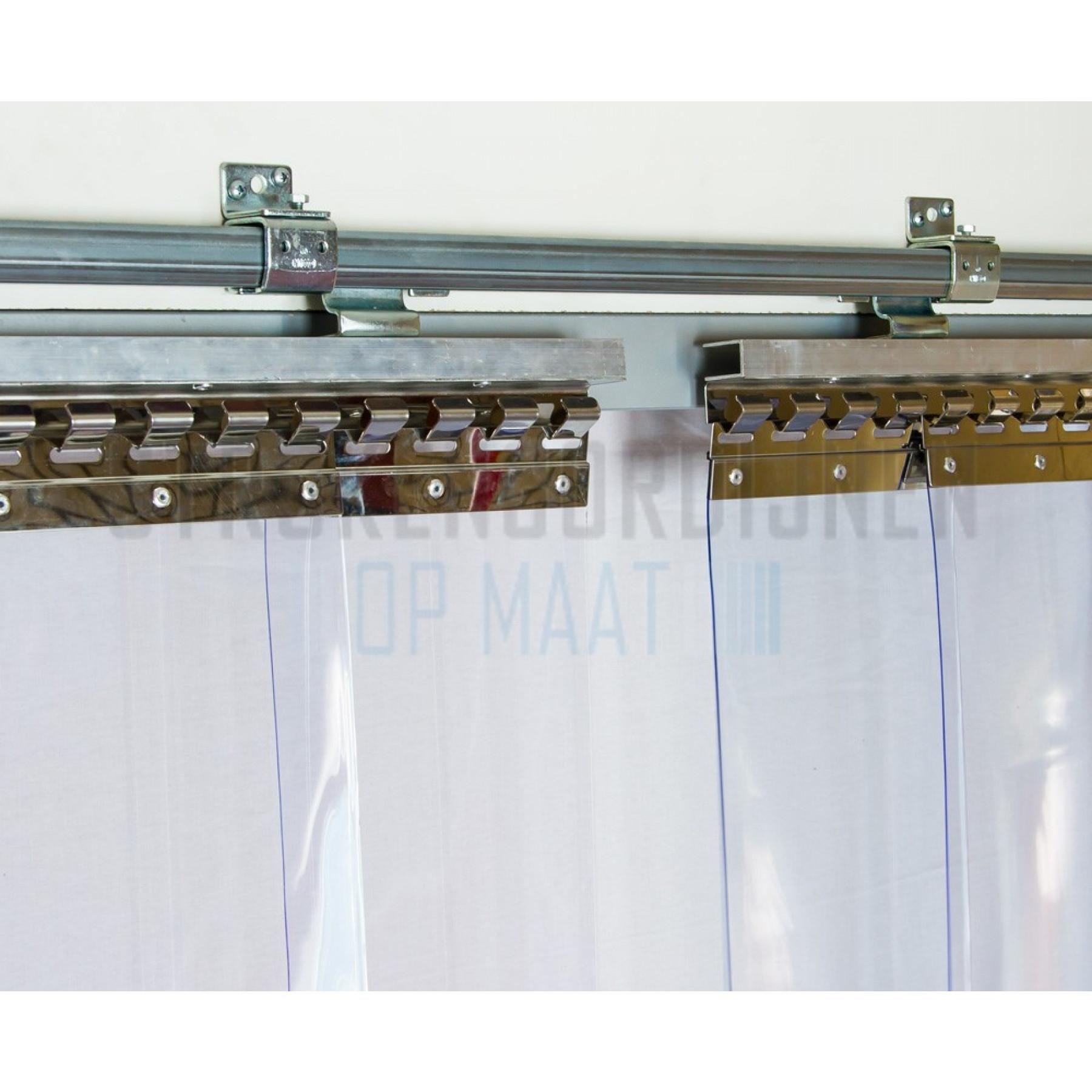 Hakenleiste für die verstellbare Schiene, Wandmontage