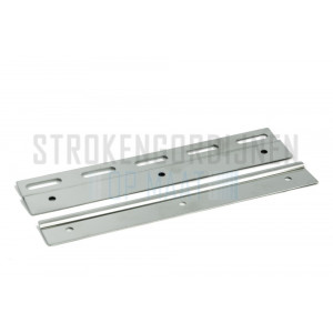 Klemmleiste für Streifen 200mm breit, Rostfrei-Stahl