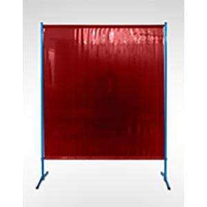 Schweißschirm ECO, 1455 x 1870 mm (Breite x Höhe), 0.4 mm Vorhang, Rot