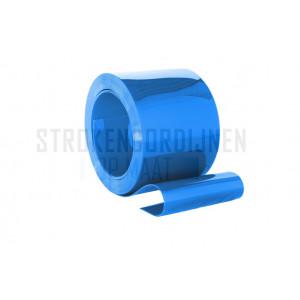 PVC Rolle, 200mm breit, 2mm dick, 50 Meter lang, blau undurchsichtig
