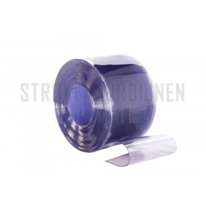 PVC Rolle, 300mm breit, 3mm dick, 50 Meter lang, Tiefkühlraum Qualität, transparent